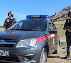Пьяный водитель врезался в забор ялтинской гостиницы