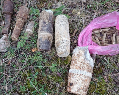 Сотни снарядов и патронов времён войны найдены за день в Севастополе