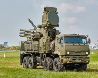 Военные США захватили российский комплекс «Панцирь-С1»