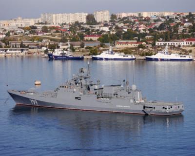 ЧФ РФ провел учения в Черном море