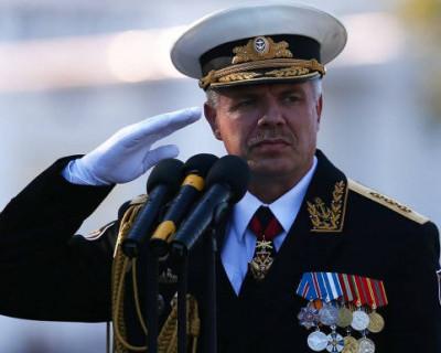 В Керчи спустили на воду патрульный корабль «Сергей Котов»