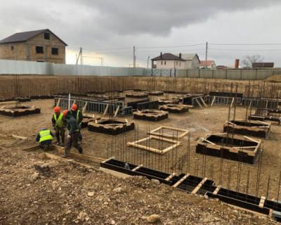 В поселке Кача началось строительство нового детсада на 260 мест