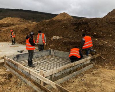 В Байдарской долине началось строительство пожарного депо