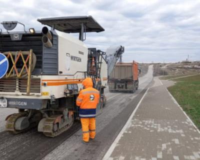 В Севастополе приступили к ремонту девяти автомобильных дорог