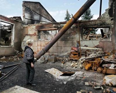 ВС Украины начали массированный обстрел городов ДНР из тяжелой артиллерии