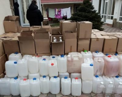 Правоохранители Крыма изъяли крупную партию суррогатного алкоголя