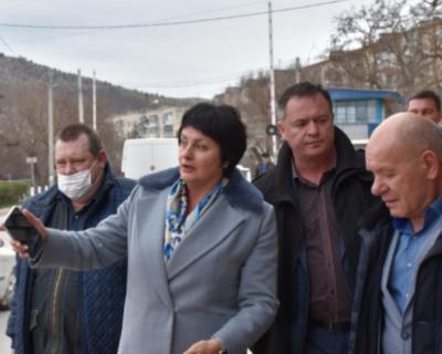 Жители Балаклавы недовольны переносом остановки общественного транспорта