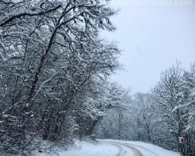 Зимняя сказка в Севастополе (ВИДЕО)