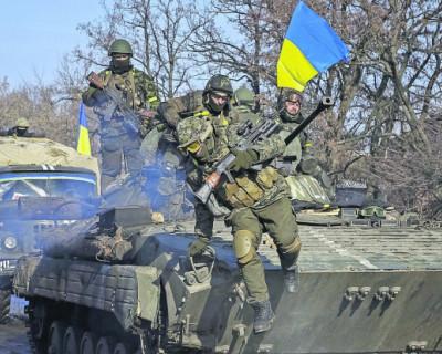 Киев готовится к наступлению на Донбассе
