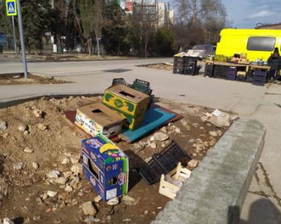 Сталинградский рынок в Севастополе снесён, но какие-то фрагменты остались