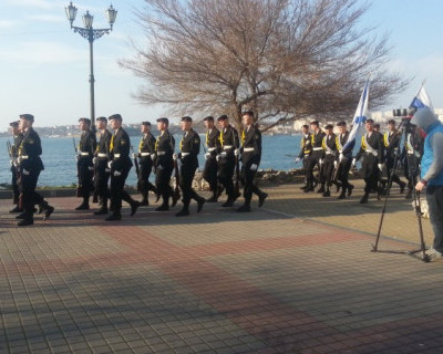 22 марта в Севастополе проходили съёмки патриотического ролика