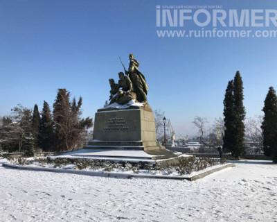 Заснеженный Севастополь