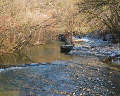 Губернатор Севастополя посетил строительство водовода из реки Бельбек