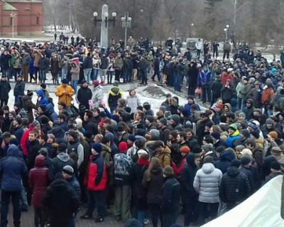 Вступил в силу закон о штрафах  за неповиновение сотрудникам полиции на митингах