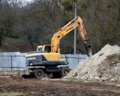В селе Дальнее началось строительство канализационных очистных сооружений