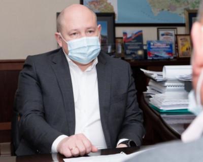 Губернатор Севастополя встретился с главами двух муниципалитетов