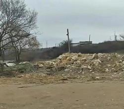 В Севастополе обнаружена очередная несанкционированная свалка мусора