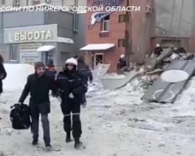 Жилой дом в Нижнем Новгороде, в котором произошел взрыв, не был газифицирован (ВИДЕО)