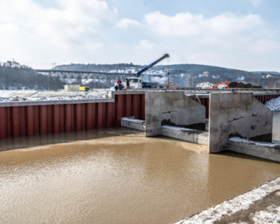 Начались пусконаладочные работы на водозаборе реки Бельбек