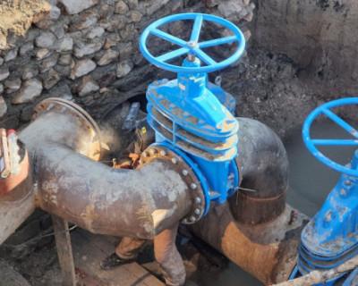 В Севастополе реконструировали участок водопровода