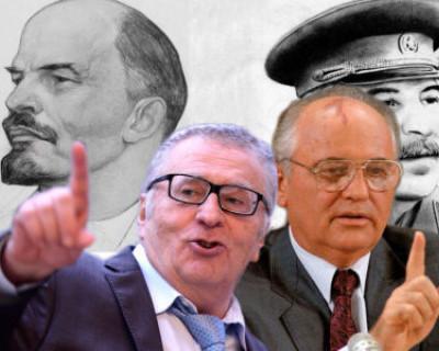 Жириновский занял первое место в голосовании на сайте севастопольской ЛДПР, за ним идут Ленин и Сталин