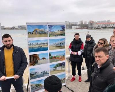 В Севастополе обсуждают реконструкцию пляжа и набережной в бухте «Омега»