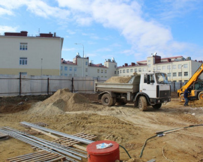 В Севастополе строится еще один детский садик