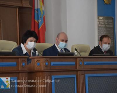 Депутаты Заксобрания Севастополя отчитались о своей работе за 2020 год. Но не все