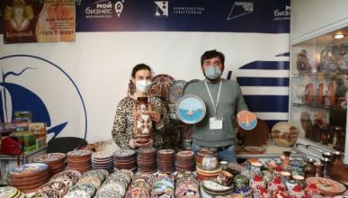 Севастопольские предприниматели представили свою продукцию на выставке в Москве