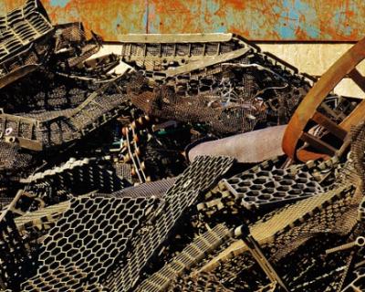 Полицейские Севастополя задержали любителя металлолома