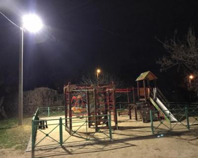 В Севастополе завершено обустройство наружного освещения еще одной улицы
