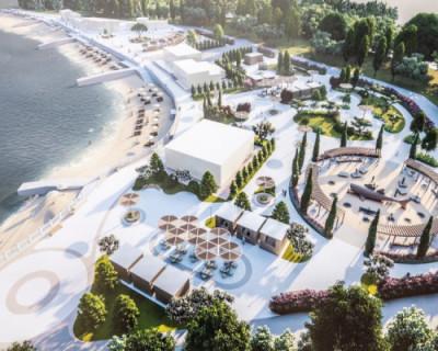 В Севастополе началось благоустройство набережной Парка Победы