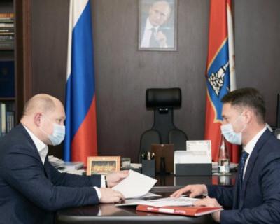 Губернатор Севастополя и глава УФНС обсудили итоги работы в 2020 году