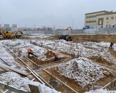 В бухте Казачья в Севастополе строят новый детский сад на 280 мест