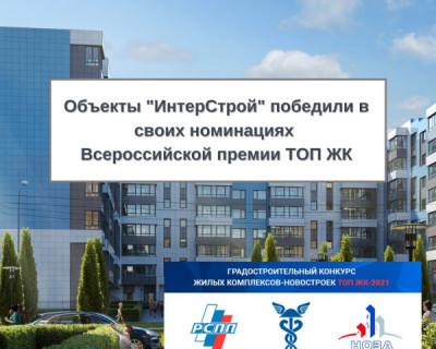 «Доброгород» и «Лесной» - лучшие ЖК «ИнтерСтрой» в Севастополе по версии Единого ресурса застройщиков России