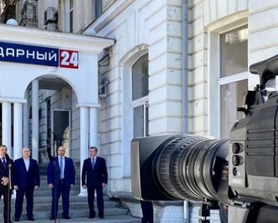 В Севастополе открылся новый телеканал «Легендарный 24»