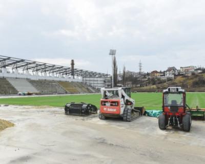 В Севастополе продолжаются работы по строительству спортивно-оздоровительного комплекса