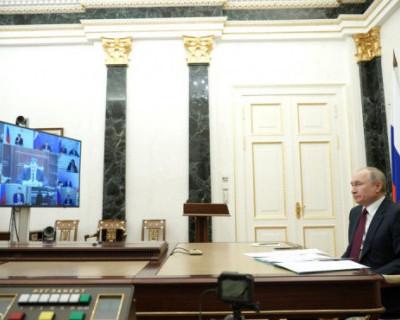 Владимиру Путину доложили о готовности Бельбекского водозабора