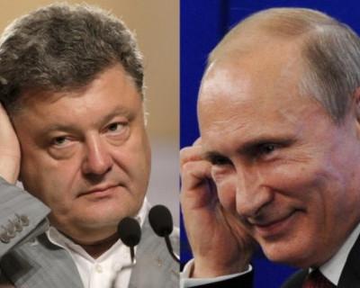 Киселев: Как ведет себя Порошенко возле Путина (видео)