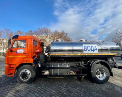 Водоканал организовал подвоз воды на время устранения аварии на водоводе