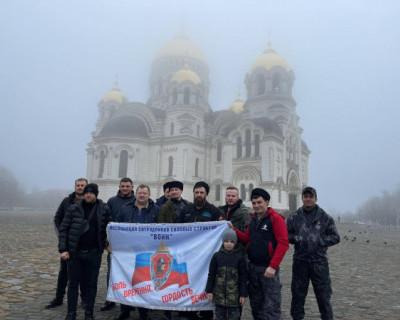 Делегация Ассоциации «Воин» приняла участие в праздновании воссоединения Крыма с Россией