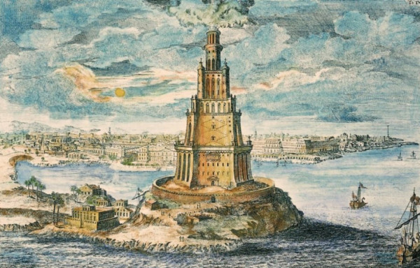 колонна - маяк Александрия