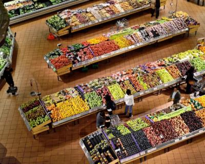 Cколько тратят россияне на продукты питания