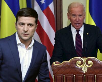 О чем говорили президенты США и Украины?
