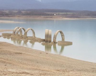 За выходные Чернореченское водохранилище пополнилось на 1,5 миллиона кубометров