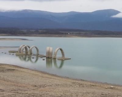 В Севастополе наполняется Чернореченское водохранилище