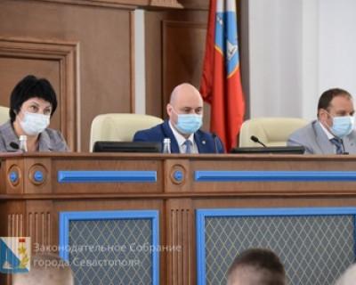 На очередном заседании сессии Заксобрания Севастополя депутаты включат на полную контрольную функцию