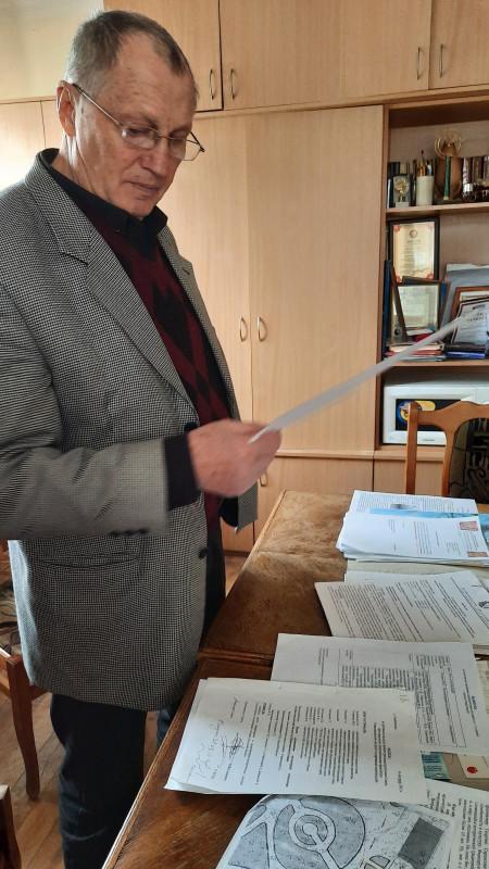 Председатель Морского собрания Владимир Стефановский