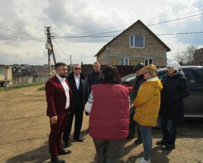 Депутат Заксобрания Севастополя Михаил Брицын взял на контроль проблемы ТСН «Родник»