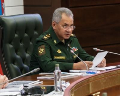 Сергей Шойгу рассказал о переброске российских войск к западным границам